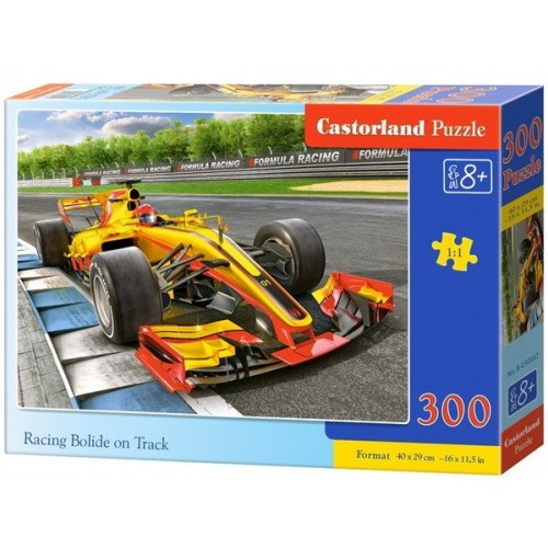 Racing Bolide on Track, Castorland Puzzle 300 pcs