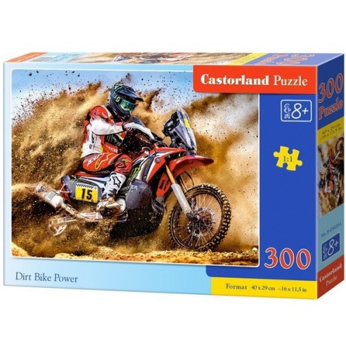Dirt Bike Power, Castorland Puzzle 300 pcs