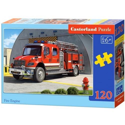 Tűzoltóautó, 120 darabos Castorland puzzle