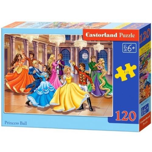 Hercegnők bálja, 120 darabos Castorland puzzle