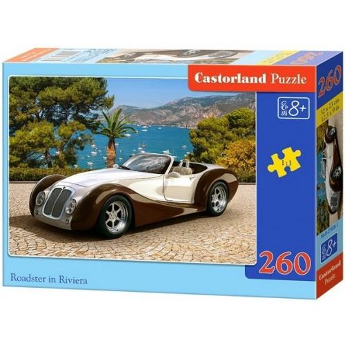 Roadster a riviérán, Castorland 260 darabos puzzle