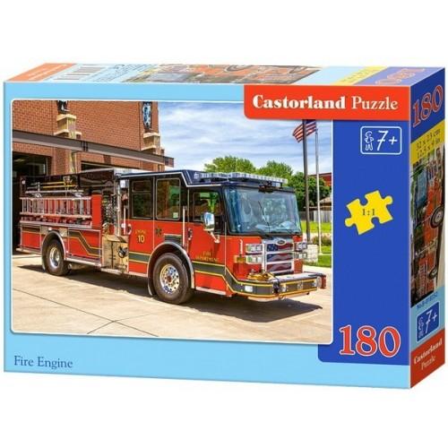 Fire Engine, Castorland Midi Puzzle 180pc