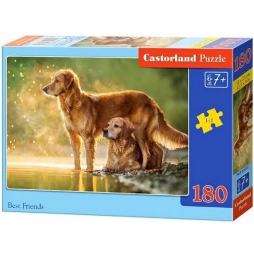 Golden retrieverek, Castorland puzzle 180db