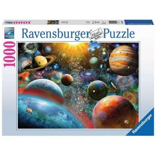 Naprendszer, 1000 darabos Ravensburger puzzle