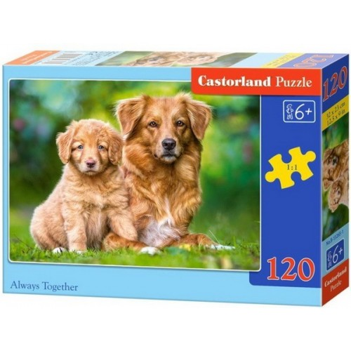Always Together, Castorland Classic Puzzle 120pc