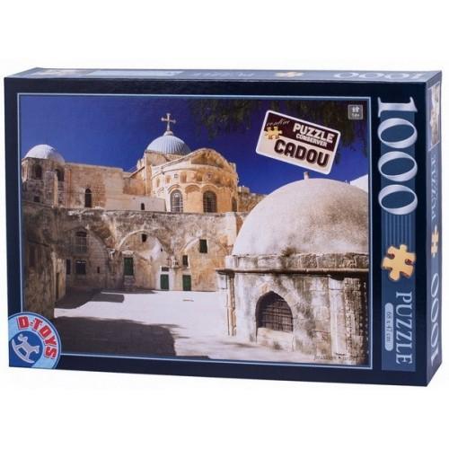 Jeruzsálem - Izrael, 1000 darabos D-Toys puzzle
