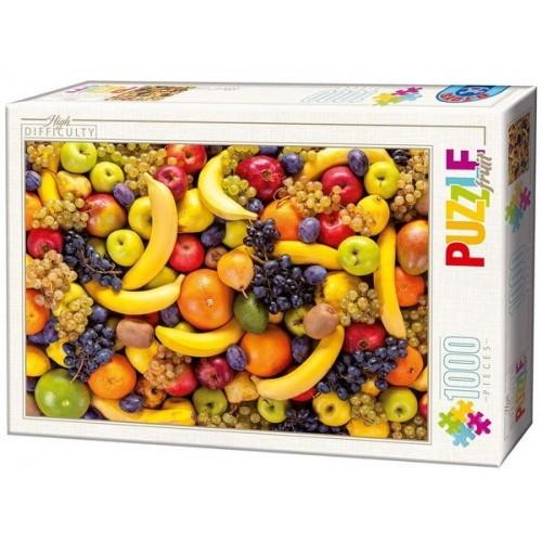 Gyümölcsök, 1000 darabos D-Toys puzzle