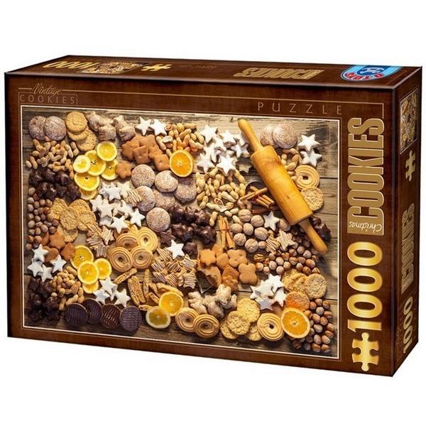 Cookies, D-Toys puzzle 1000 pc