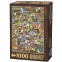 Paper Money, D-Toys puzzle 1000 pc