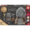 Iron Throne - Game of Thrones, 3D Sculpture wooden puzzle 56 pc