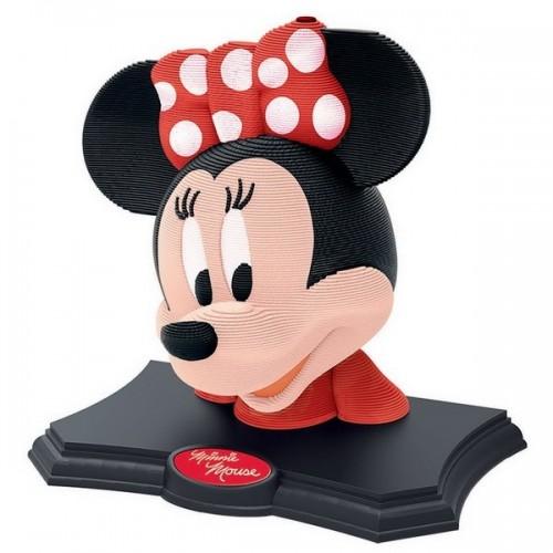Minnie - Color Edition, 3D Sculpture puzzle 160 pc