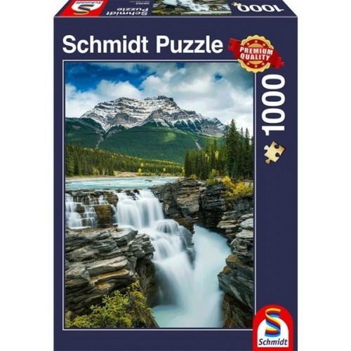 Athabasca Falls - Canada, Schmidt puzzle, 1000 pcs