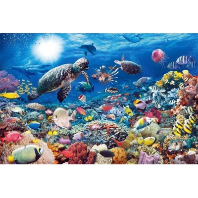 Underwater Tranquility, Ravensburger puzzle 5000 pc