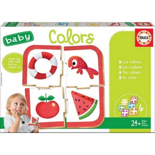 Baby Colors - Baby Educational Games, 24 pc