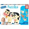 Educa Baby puzzles pets, 2-3-4 pieces