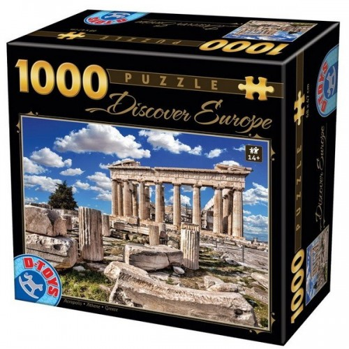 Acropolis - Athene, D-Toys puzzle 1000 pc