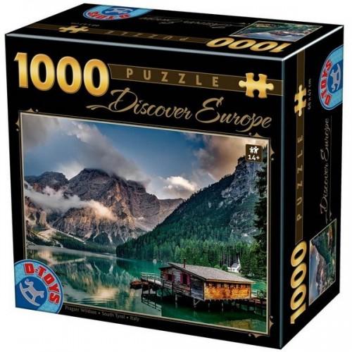Pragser Wildsee - South Tyrol, D-Toys puzzle 1000 pc