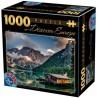 Pragser Wildsee - Dél-Tirol, 1000 darabos D-Toys puzzle