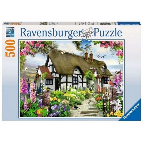 Thatched Cottage, Ravensburger Puzzle 500 pc