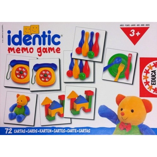 Identic párkereső, Educa 72 darabos memóriajáték