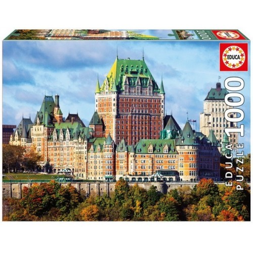 Chateau Frontenac - Kanada, 1000 darabos Educa puzzle