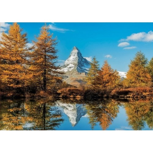 Matterhorn Montain in Autumn, Educa puzzle 1000 pcs