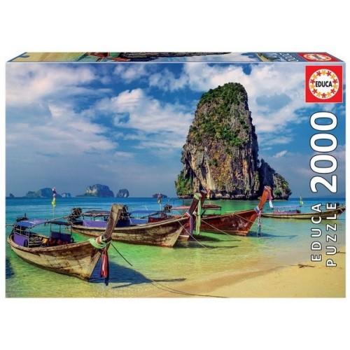 Krabi - Thailand, Educa Puzzle 2000 pc
