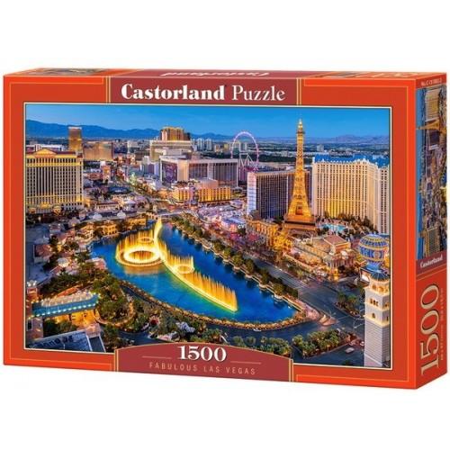 Fabulous Las Vegas, Castorland puzzle 1500 pc