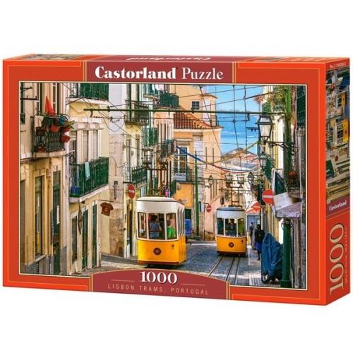 Lisbon Tramps - Portugal, Castorland Puzzle 1000 pc