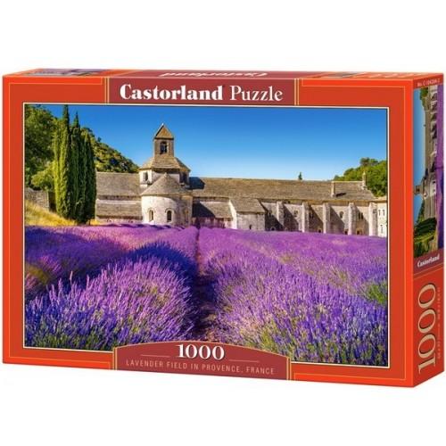 Lavender Field in Provence, Castorland Puzzle 1000 pc