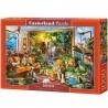 Dzsungellé vált nappali, Castorland Puzzle 1000 darabos képkirakó