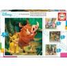 Disney mesék, Educa Progresszív Puzzle 12-25 db