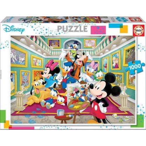 Mikiegér galériája, 1000 darabos Educa puzzle
