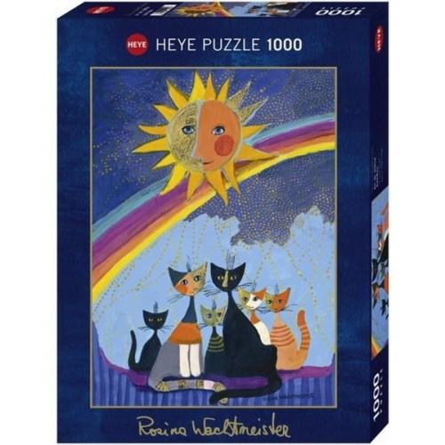 Gold Rain - Rosina Wachtmeister, 1000 darabos Heye puzzle