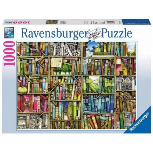 Bizarr könyvesbolt, 1000 darabos Ravensburger puzzle