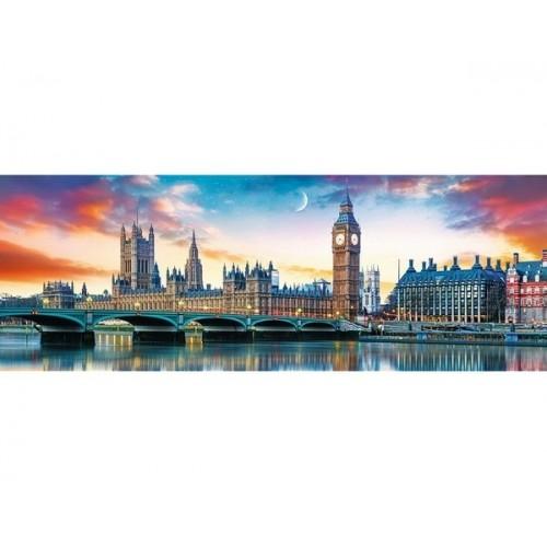 Big Ben and Palace of Westminster, Trefl panorama Puzzle, 500 pcs
