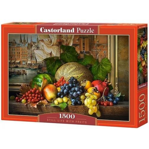 Gyümölcs csendélet, 1500 darabos Castorland puzzle