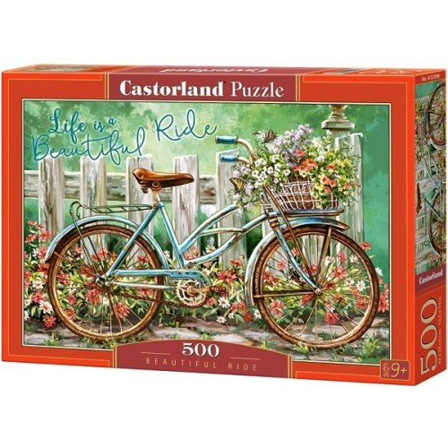 Beautiful Ride, Castorland Puzzle 500 pcs