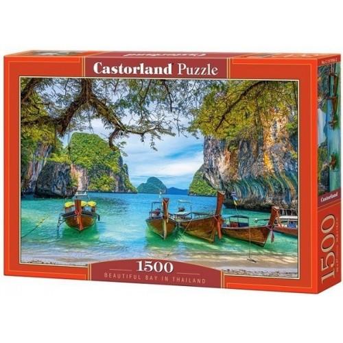 Öböl Thaiföldön, 1500 darabos Castorland puzzle