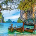 Beautiful bay in Thailand, Castorland puzzle 1500 pc