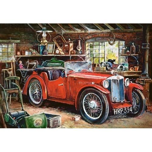 Vintage Garage, Castorland Puzzle 1000 pc