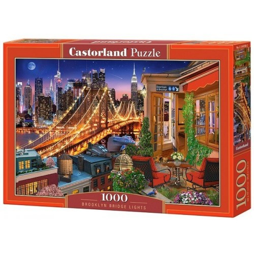 Brooklyn Bridge Lights, Castorland Puzzle 1000 pc