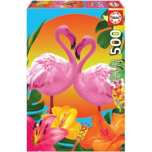 Flamingos, Educa Puzzle 500 pcs