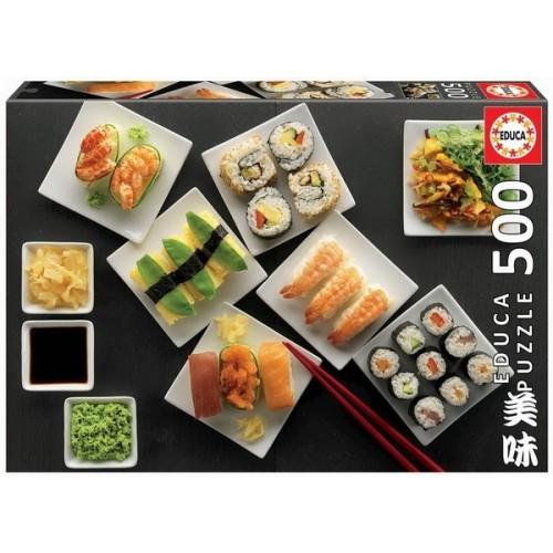 Sushi, 500 darabos Educa puzzle
