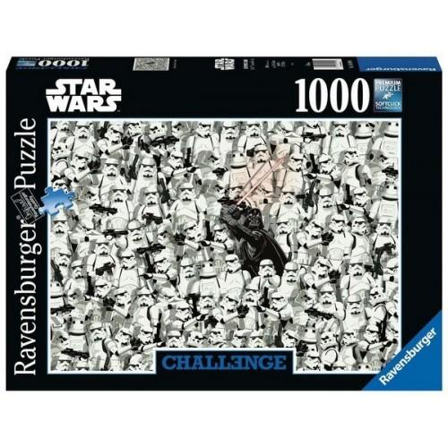 Challenge Puzzle - Star Wars, Ravensburger puzzle 1000 pcs