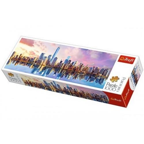 Manhattan - New York, 1000 darabos Trefl panoráma puzzle