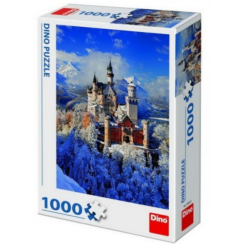 Neuschwanstein Castle, Dino puzzle 1000 pc