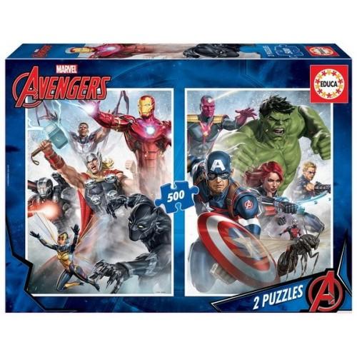 Avengers, Educa Puzzle 2 x 500 pcs