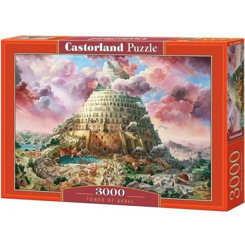 Bábel tornya, 3000 darabos Castorland puzzle