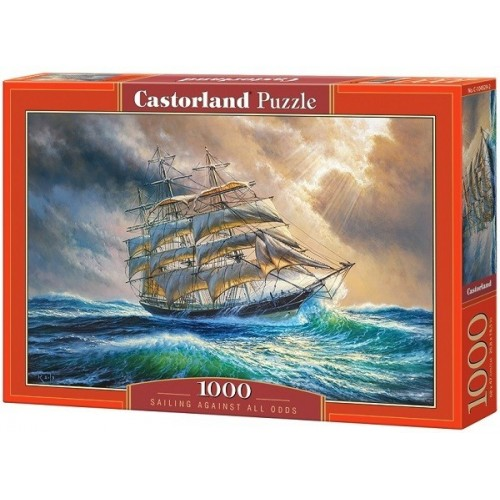 Sailing Against All Odds, Castorland Puzzle 1000 pc